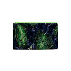 Backdrop Background Abstract Cosmetic Bag (xs)