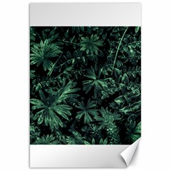 Dark Flora Photo Canvas 20  X 30