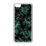 Dark Flora Photo Apple iPhone 5C Seamless Case (White) Front