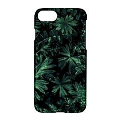 Dark Flora Photo Apple Iphone 7 Hardshell Case