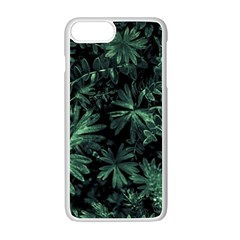 Dark Flora Photo Apple Iphone 7 Plus White Seamless Case