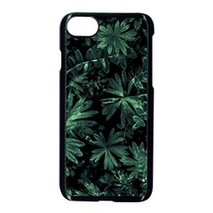Dark Flora Photo Apple Iphone 7 Seamless Case (black)