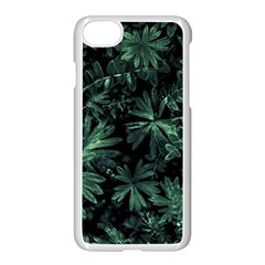 Dark Flora Photo Apple Iphone 7 Seamless Case (white)