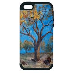 Turkeys Apple iPhone 5 Hardshell Case (PC+Silicone)