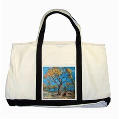 Turkeys Two Tone Tote Bag