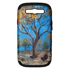Turkeys Samsung Galaxy S Iii Hardshell Case (pc+silicone)