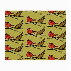 Bird Birds Animal Nature Wild Wildlife Small Glasses Cloth