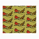 Bird Birds Animal Nature Wild Wildlife Small Glasses Cloth Front