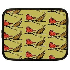 Bird Birds Animal Nature Wild Wildlife Netbook Case (large)