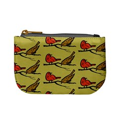 Bird Birds Animal Nature Wild Wildlife Mini Coin Purses
