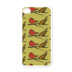 Bird Birds Animal Nature Wild Wildlife Apple Iphone 4 Case (white)