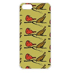 Bird Birds Animal Nature Wild Wildlife Apple iPhone 5 Seamless Case (White)