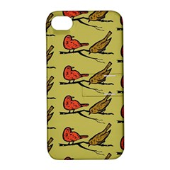 Bird Birds Animal Nature Wild Wildlife Apple Iphone 4/4s Hardshell Case With Stand