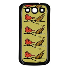 Bird Birds Animal Nature Wild Wildlife Samsung Galaxy S3 Back Case (black)