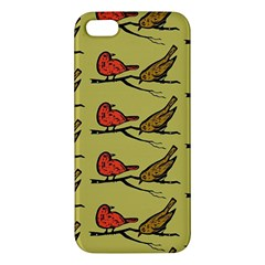 Bird Birds Animal Nature Wild Wildlife Iphone 5s/ Se Premium Hardshell Case