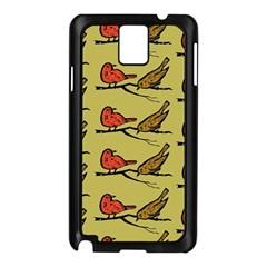 Bird Birds Animal Nature Wild Wildlife Samsung Galaxy Note 3 N9005 Case (black)