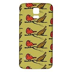 Bird Birds Animal Nature Wild Wildlife Samsung Galaxy S5 Back Case (white)