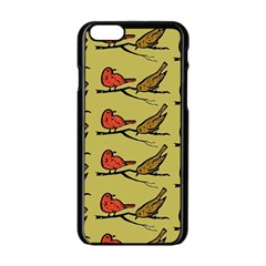 Bird Birds Animal Nature Wild Wildlife Apple Iphone 6/6s Black Enamel Case