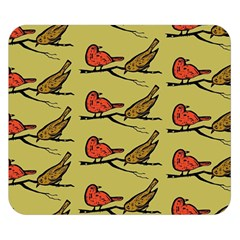 Bird Birds Animal Nature Wild Wildlife Double Sided Flano Blanket (small)