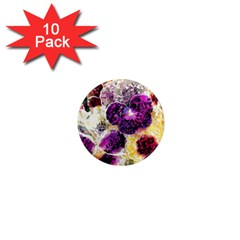 Background Flowers 1  Mini Magnet (10 Pack)