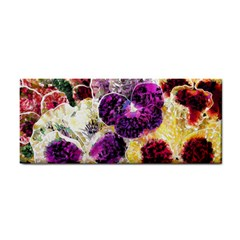 Background Flowers Cosmetic Storage Cases