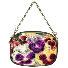 Background Flowers Chain Purses (one Side)