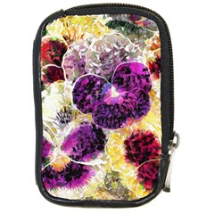Background Flowers Compact Camera Cases