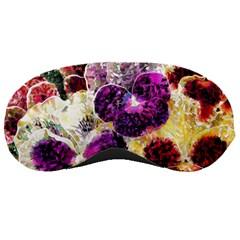 Background Flowers Sleeping Masks