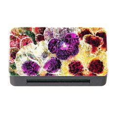 Background Flowers Memory Card Reader with CF