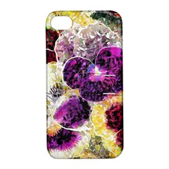 Background Flowers Apple Iphone 4/4s Hardshell Case With Stand