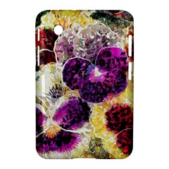 Background Flowers Samsung Galaxy Tab 2 (7 ) P3100 Hardshell Case