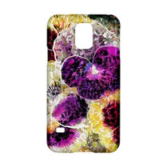 Background Flowers Samsung Galaxy S5 Hardshell Case