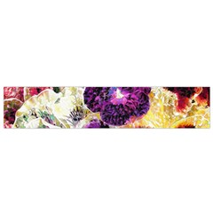 Background Flowers Flano Scarf (small)