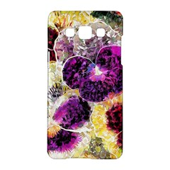 Background Flowers Samsung Galaxy A5 Hardshell Case