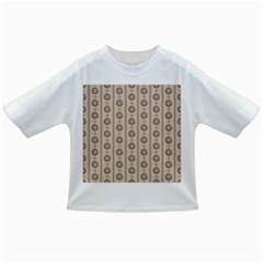 Background Rough Stripes Brown Tan Infant/toddler T Shirts