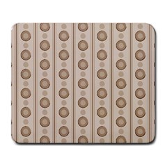 Background Rough Stripes Brown Tan Large Mousepads