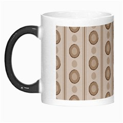 Background Rough Stripes Brown Tan Morph Mugs
