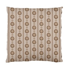 Background Rough Stripes Brown Tan Standard Cushion Case (one Side)