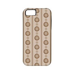 Background Rough Stripes Brown Tan Apple Iphone 5 Classic Hardshell Case (pc+silicone)