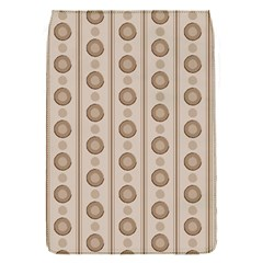 Background Rough Stripes Brown Tan Flap Covers (s)
