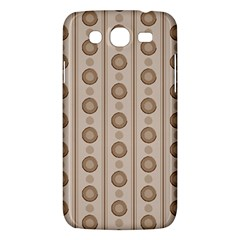 Background Rough Stripes Brown Tan Samsung Galaxy Mega 5 8 I9152 Hardshell Case