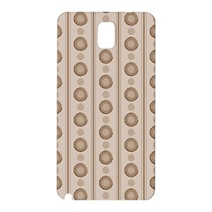 Background Rough Stripes Brown Tan Samsung Galaxy Note 3 N9005 Hardshell Back Case