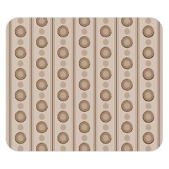 Background Rough Stripes Brown Tan Double Sided Flano Blanket (small)