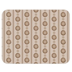 Background Rough Stripes Brown Tan Double Sided Flano Blanket (medium)