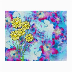 Backdrop Background Flowers Small Glasses Cloth