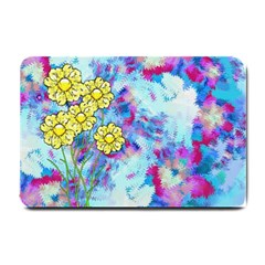Backdrop Background Flowers Small Doormat