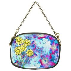 Backdrop Background Flowers Chain Purses (two Sides)