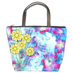 Backdrop Background Flowers Bucket Bags