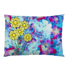 Backdrop Background Flowers Pillow Case