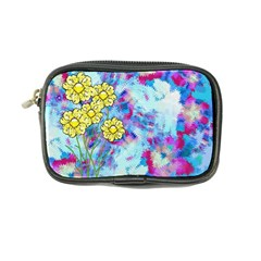 Backdrop Background Flowers Coin Purse
